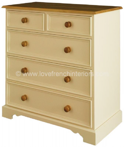 Juline Bespoke 2 over 3 Chest of 5 Drawers 'B'